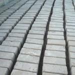 Briques pleines pour compartiments à excrétas