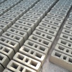 Briques creuses pour construction latrine