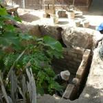 2ème latrine en construction
