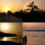 Couchers de soleil au Sénégal
